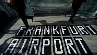 L'aéroport de Francfort au ralenti