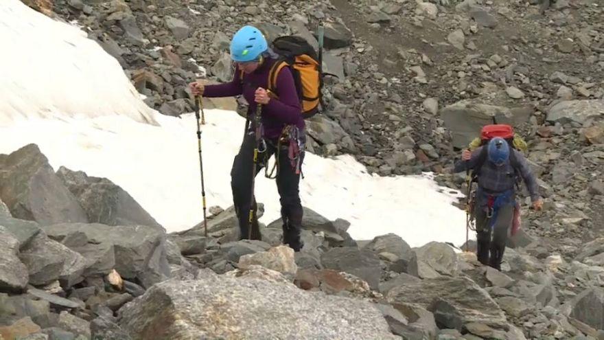 Hitze in den Alpen: Behörden warnen vor Mont-Blanc-Aufstieg