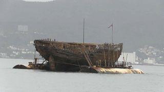 Экспедиционное судно Амундсена вернулось домой