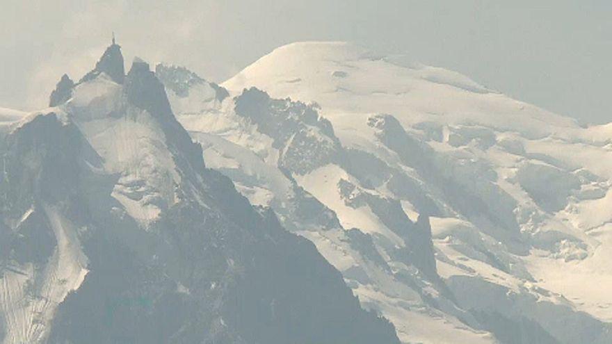 Hőség miatt veszélyes a Mont Blanc