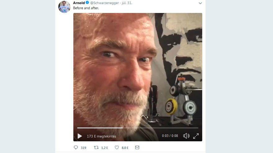 """Mit Arnie in der Mucki-Bude: Dreh von """"Terminator 6"""" in Budapest"""