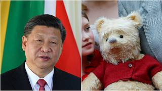 Çin Devlet Başkanı Xi Jinping ve Winnie The Pooh