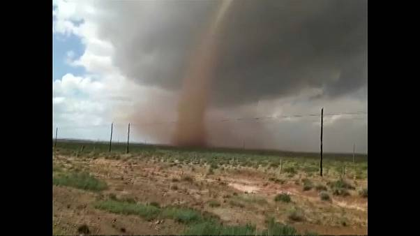 tornado sighted in north China's Inner Mongolia