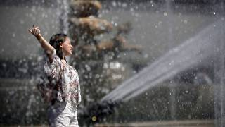 Paris a rarement eu aussi chaud!