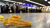 Terminal 1 des Frankfurter Flughafens wurde von der Polizei geräumt.
