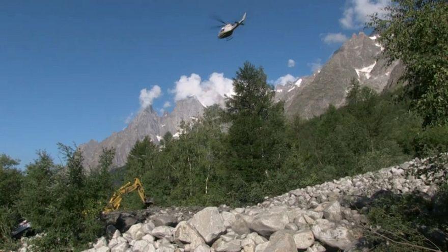 Italien: Erdrutsch im Val Ferret tötet Ehepaar