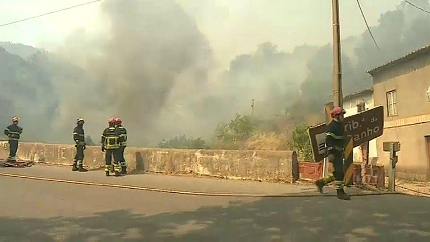 Proteção Civil reforça meios em Monchique