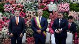 Ivan Duque investi président de Colombie