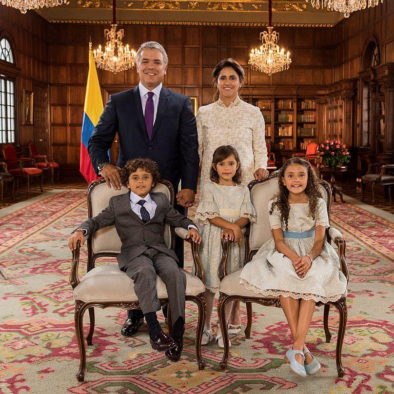 Nicolas Galeano/Courtesy of Colombian Presidency/Handout via REUTERS