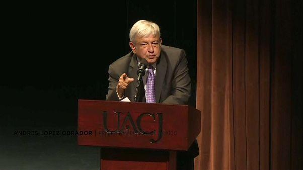 López Obrador propone la reconciliación para pacificar México