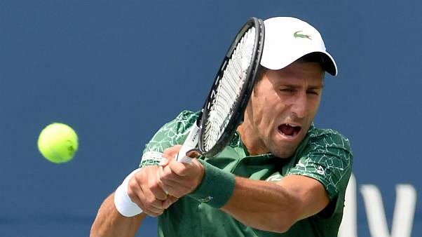 Recém-campeão em Wimbledon, Djokovic impôs-se a Mirza Bašić