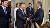 Novo presidente colombiano já tomou posse