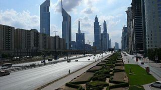صورة لشارع الشيخ زايد في دبي