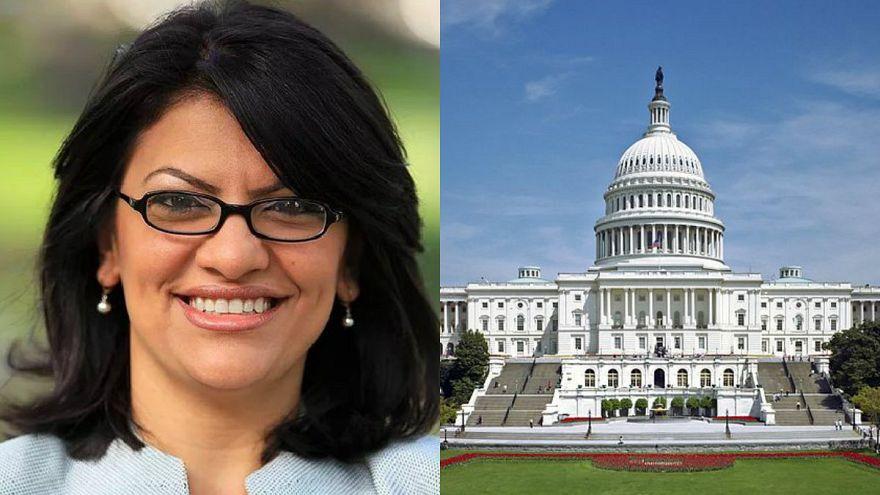ABD kongresinde ilk Müslüman kadın…