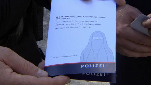 Broschüre der österreichischen Polizei zum Verbot der Gesichtsverhüllung