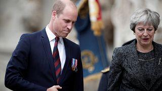 Theresa May et le prince William célèbrent le centenaire de la bataille d'Amiens