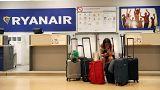 Крупнейшая забастовка Ryanair