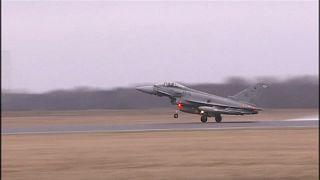 مقاتلة إسبانية ترتكب خطأ كارثياً خلال مناورات في إستونيا
