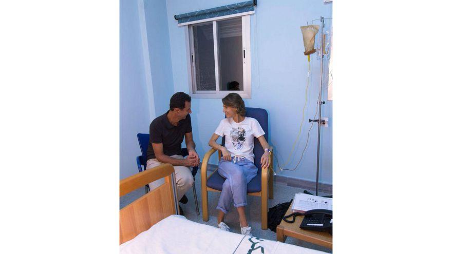 همسر بشار اسد به سرطان پستان مبتلا شده است