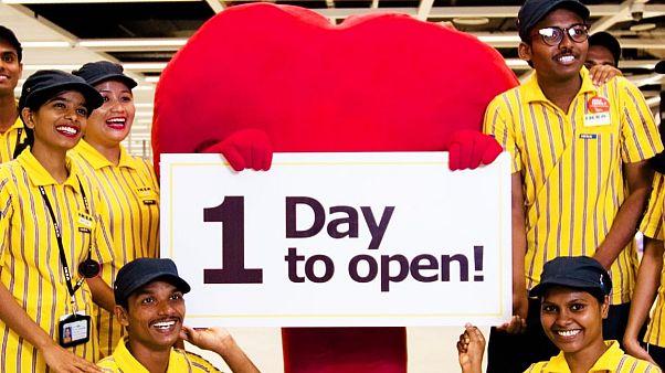 Ikea ouvre son premier magasin en Inde