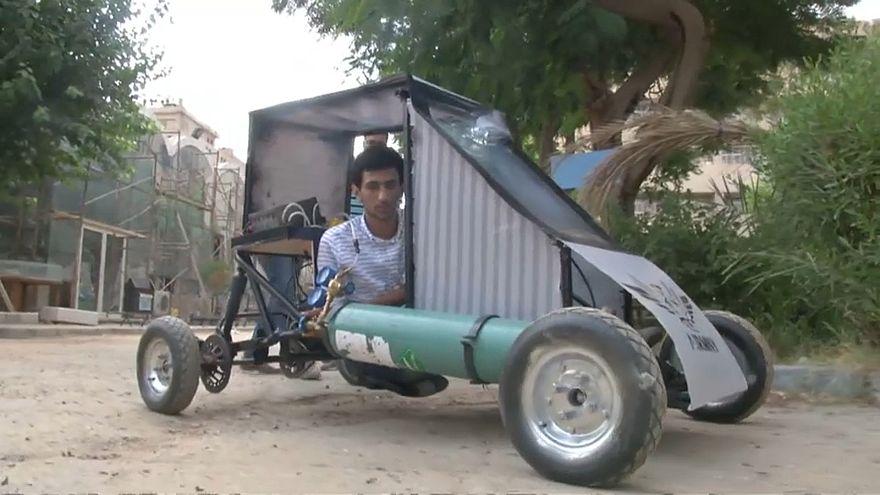 شاهد: طلاب مصريون يطورون سيارة تعمل بقوة الهواء المضغوط
