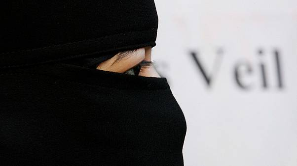 Where in Europe is the Islamic full-face veil banned?