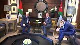 """الرئيس الفلسطيني يؤكد عقب لقائه العاهل الأردني رفضهما لـ""""صفقة القرن"""""""