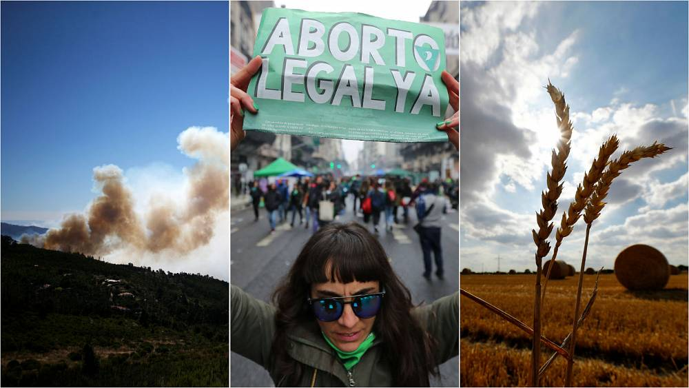 Live updates: US to sanction Russia, Portugal fire, Argentina abortion vote