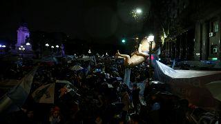Сенат Аргентины - против абортов