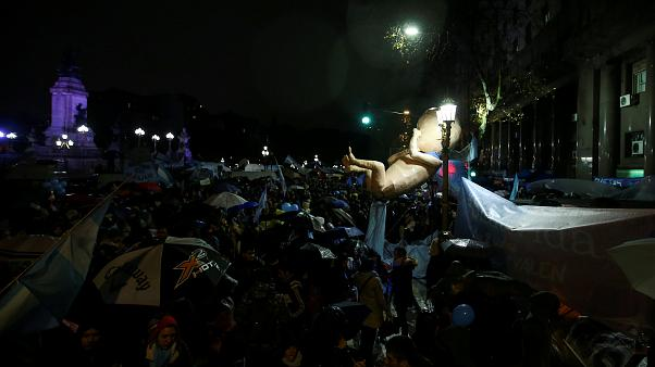Argentina's Senate rejects proposed law to legalise abortion