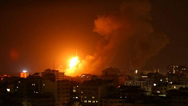 سه فلسطینی از جمله یک نوزاد و یک زن باردار در حمله موشکی اسرائیل به نوار غزه کشته شدند