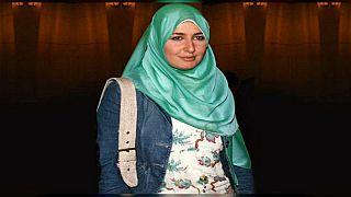 حلا شيحا بالحجاب