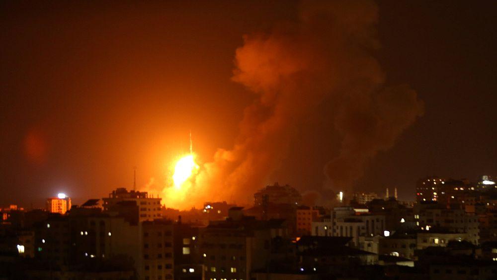 Israel strikes Gaza in response to militants' rockets