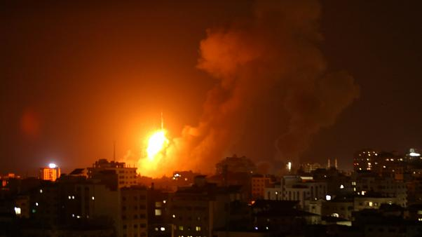 Israel strikes Gaza in response to militants' rockets