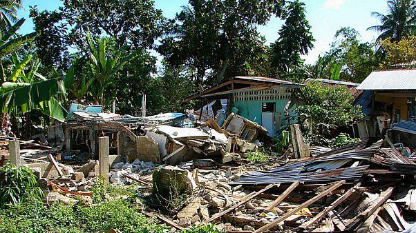زمین لرزه قدرتمند دیگری جزیره «لومبوک» اندونزی را لرزاند