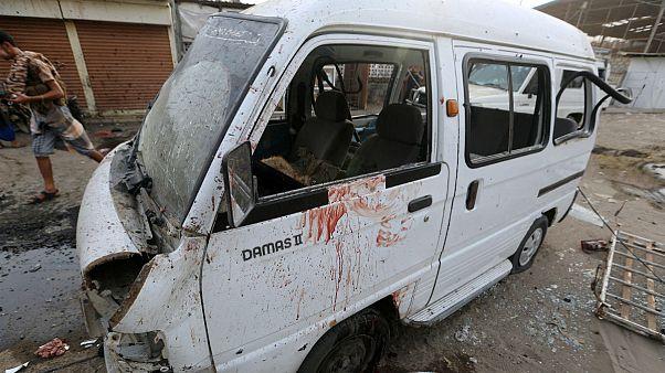 جتهای سعودی اتوبوس دانش آموزان یمنی را هدف قرار دادند