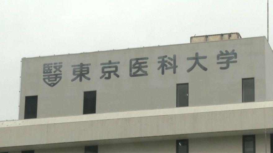 Japanese university apologises for marking down female entrants