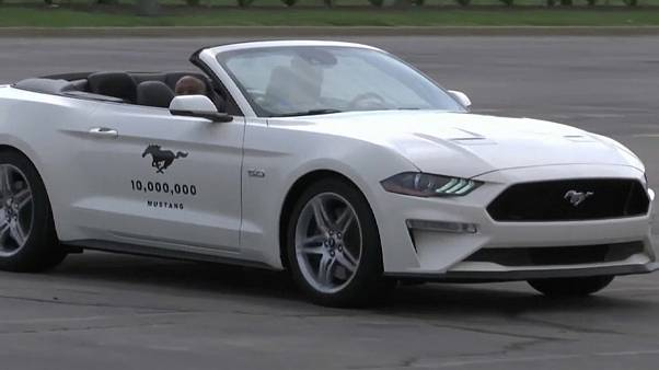 10-миллионный Ford Mustang сошел с конвейера