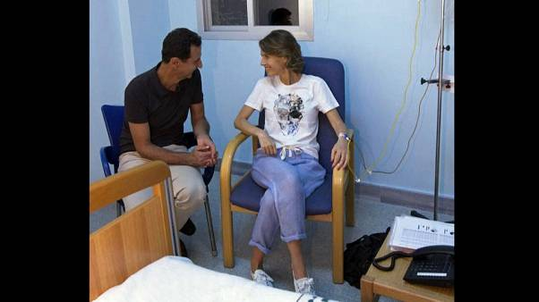 Abgemagert, aber lächelnd: Wie geht es Asma Assad (42)?