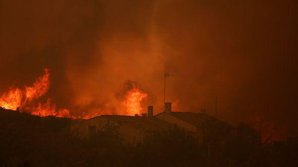 Πορτογαλία: Εκτός ελέγχου η πυρκαγιά στο Αλγκάρβε