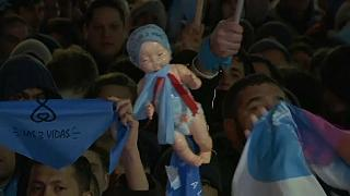 Celebrations and anger as Argentine Senate rejects abortion bill