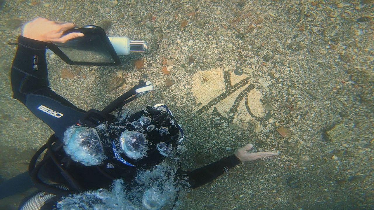 کشف ویرانههای تمدن گمشده در اعماق آب با واقعیت افزوده