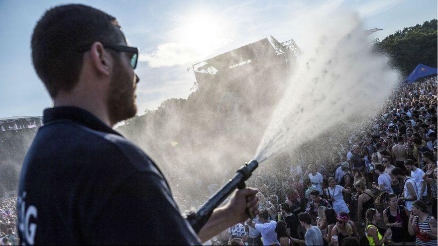 Sziget-Festival in Budapest: Feiern bei großer Hitze
