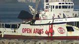 Spanyolország: Kiköthetett az Open Arms