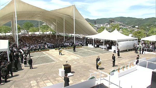 اليابان تحيي الذكرى الـ73 لضحايا القنبلة الذرية الأمريكية في ناكازاكي