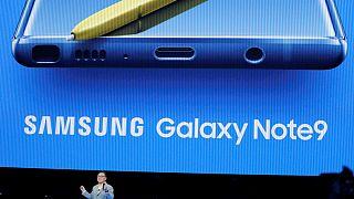 Samsung представил Galaxy Note 9
