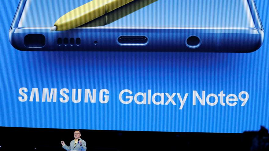 Samsung, presentato il Galaxy Note 9