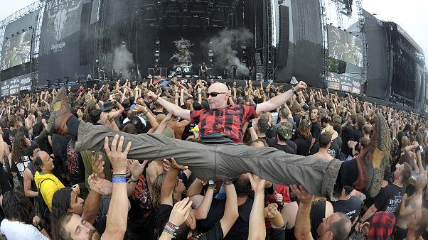 Metal-Fans beim Wacken-Festival