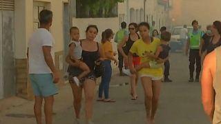 شهر سیلوس پرتغال با گسترش آتشسوزیها تخلیه شد