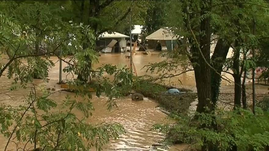Франция: от жары до наводнений